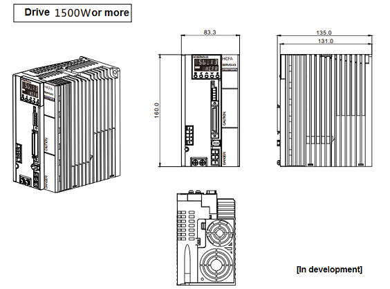 sv-x3 series synchronous servo system - servo drive