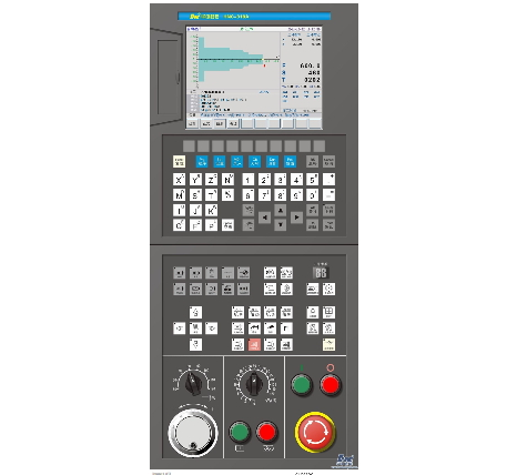 HNC-818AT CNC controller for Turning Machine