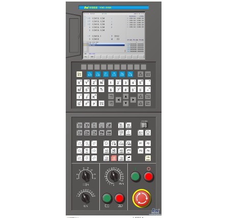 HNC-818AM CNC controller for Milling Machine